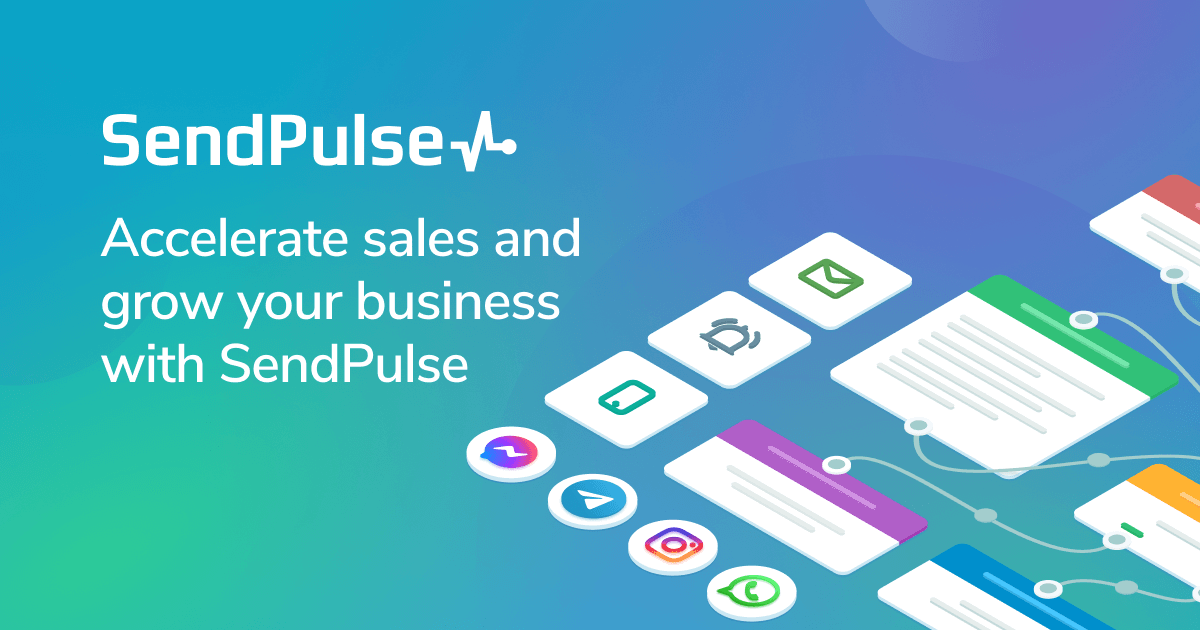 Multi Channel Marketing Automation Platform Sendpulse