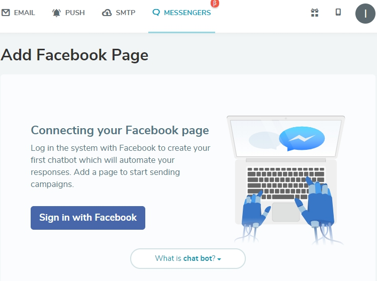 Connect your Facebook profile