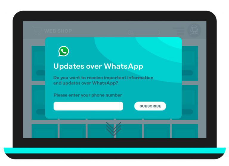 Opt-in subscription from to WhatsApp